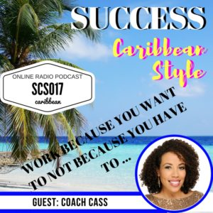 Work only because you want to with Coach Cass and Kingsley Grant